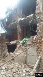 Earthquake: Kathmandu Nepal,  April 2015