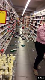 Earthquake: Skopje Macedonia (FYROM),  September 2016