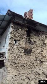 Earthquake: Pamukkale Turkey,  March 2019