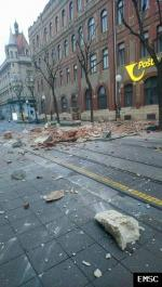 Earthquake: Split Croatia,  March 2020