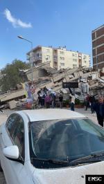 Earthquake: Yenifoça Turkey,  October 2020