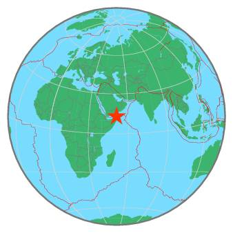 Earthquake - Magnitude 4.5 - GULF OF ADEN - 2019 November 13 ...