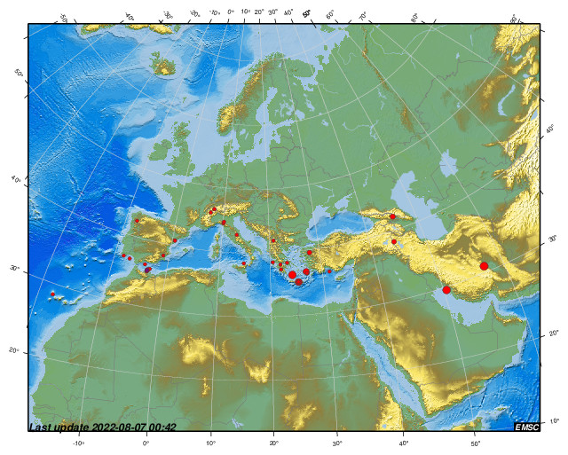 Grote Opbergkist Loungekussens.Earthquakes Earthquake Today Latest Earthquakes In The World Emsc