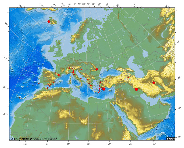 Earthquakes Earthquake Today Latest Earthquakes In The