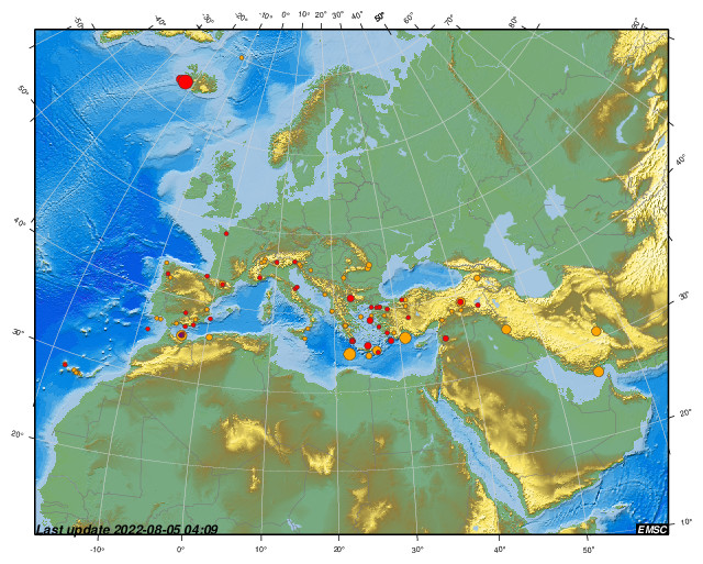 Earthquakes earthquake today latest earthquakes in the world emsc gumiabroncs Images
